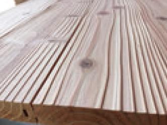 ObiRED 飫肥杉赤身浮造りフローリング