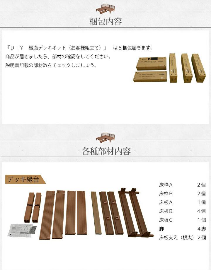 DIY人工木デッキ:カルパティアⅡ おすすめポイント4 おしゃれなフェンス