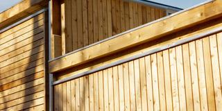 木製外壁・木製内装