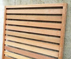 天然木セランガンバツー製フェンス