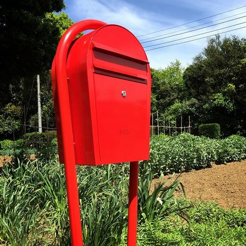 郵便ポストの施工例