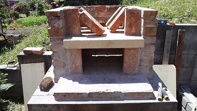 アンティークレンガの施工例