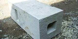 フェンス基礎ブロック
