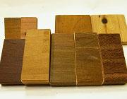 天然木ハードウッド材 カットサンプル
