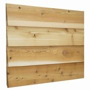 レッドシダー木製外壁材カットサンプル