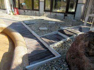 コンクリート枕木の施工例