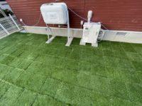 人工芝パネル「パークシア」の施工例