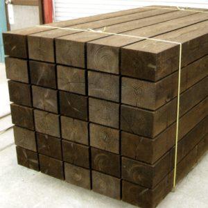 国産杉新品枕木