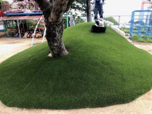 人工芝パークシアシンプルの施工例